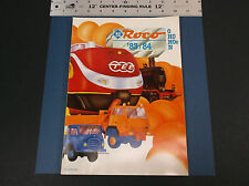 VINTAGE AUSTRIA 1983 / 84 ROCO MODEL TOY TRAIN CATALOG  O HO HOe N NICE *G-COND*