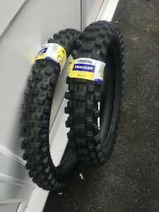 Michelin Tracker Road Legal Enduro Tyres Pair 80/100-21 Front 120/90-18 Rear