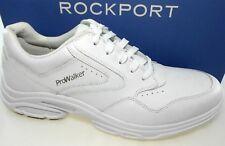 ROCKPORT PROWALKER CATALYST 3 MEN'S WHITE LEATHER WALKING SHOES, V81061