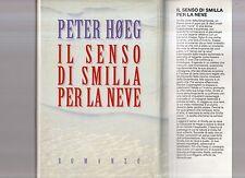 Il senso di Smila per la neve - Peter Hoeg  - maydecimus -