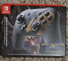 Nintendo Switch Pro Controller Monster Hunter Rise Edition - IN HAND FREE SHIP