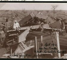 German Colonies SOUTH-WEST AFRICA *Railway Crash*Rare Real Photo Card 1911 U159a