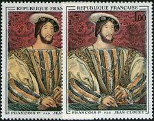 """FRANCE STAMP TIMBRE 1518 """" FRANCOIS 1er , CLOUET , VARIETE COULEUR """" NEUF xx TTB"""