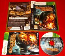 CABELA'S DANGEROUS HUNTS 2011  XBOX 360 Versione Italiana 1ª Ed ○ COMPLETO - FG