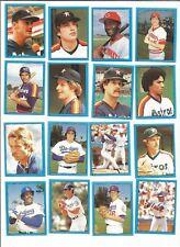 1982 O-Pee-Chee Baseball Sticker George Foster #40 Cincinnati Reds *MINT*