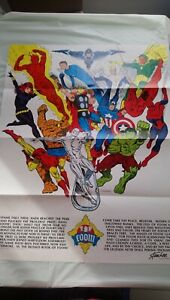 FOOM # 1 WITH FULL MEMBERSHIP KIT POSTER STICKERS CARD ENVELOPE  CENTS 1973