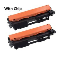 2PK CF230A 30A Toner Cartridge for HP LaserJet M203dw M203dn M227fdn M227fdw