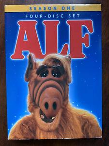 Alf Season 1 DVD Box Set w/ Slipcover 1980s Family Sci-Fi TV Series Region 1