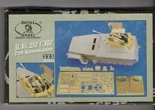 "ROYAL MODEL  223 - Sd.Kfz.250/1 ""NEU"" 2cm RECONNAISSANCE - 1/35 RESIN KIT"