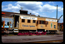 ORIG. SLIDE CHESSIE SYSTEM (B&O) C3771 CABOOSE (SPECIAL PAINT)