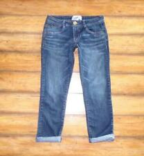 514cb592c0a56b JOLT ~ Size Junior's 5 ~ Distressed Whisker Fade Wash Cropped Skinny Jeans 6
