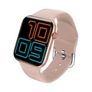 Reloj Inteligente Mujer smartwatch Chica Bluetooth 5.0 Termómetro Rosa KUMI KU1