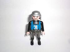 Playmobil Adlerritter schwarz blau Adler Motiv Grundfigur