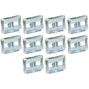 New 1963 Falcon Molding Clips Set of 10 Doors Quarters 1962 Galaxie Mercury Ford