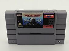 U.N. Squadron Super Nintendo Authentic NRMT condition game cartridge