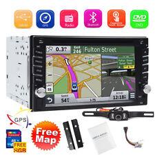"Autoradio 2Din For Nissan Doppio Italiano GPS Car SatNav DVD RDS BT MP3 6.2""+Cam"
