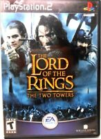 PS2 Playstation 2, THE LORD OF THE RINGS, THE TWO TOWERS, MINT CONDITION