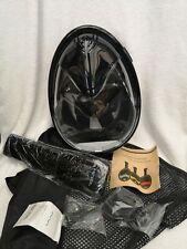 Hicool Full Dry Snorkel Mask Black Size L/XL - New but no box