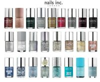 NAILS INC NAIL POLISH VARNISH GLITTER MATTE HOLOGRAPHIC 10ML NEW **CHOOSE TYPE**