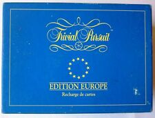 TRIVIAL PURSUIT - RECHARGE EDITION EUROPE - 1993 - 3000 questions