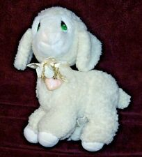 LEVI LAMB  Applause 1985 Precious Moments Stuffed Animal with Locket - 10 Inches