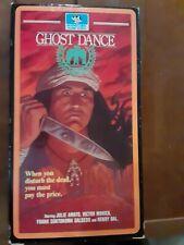 Ghost Dance VHS NTSC 1982 Speed slasher