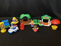 Fisher Price Little People Learn About Town Discovery Pieces & Figures