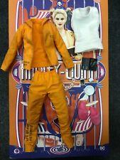 1/6 Hot Toys MMS407 Suicide Squad Prisoner Harley Quinn Shirt Suit Accessories