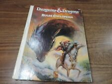 Dungeons and Dragons RULES CYCLOPEDIA TSR Inc. 1071 D&D RPG
