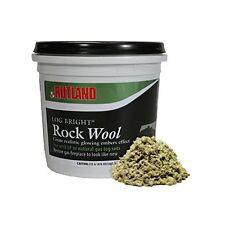Rutland 587 Bright Rock Wool for Gas Log , New, Free Shipping