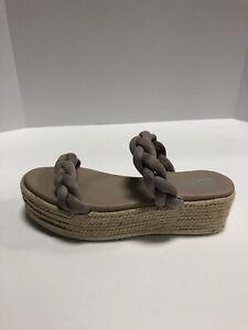 Sbicca Turner Womens Platform Sandals Lavender US9 M