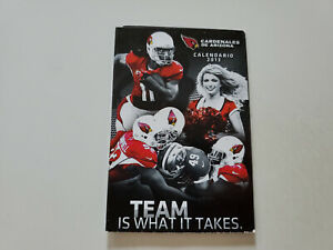 RS20 Arizona Cardinals 2013 NFL Football Pocket Schedule in SPANISH - Bud Light
