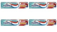 AQUAFRESH Cavity Sugar Acid Protection COOL Mint Toothpaste - 5.6 OZ (4 PACK)
