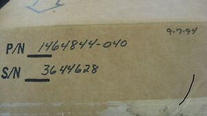 """Ampex 1 """" VPR-6 complete upper drum and motor assembly cat:1464844-040 sn:364628"""