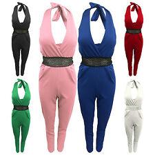 Women's Petite Striped Sleeveless Jumpsuits & Playsuits