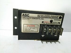 ASC 12/8 BATTERY CHARGE REGULATOR FOR PHOTOVOLTAIC SYSTEM