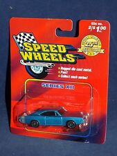 Maisto Speed Wheels Series XII 1969 Dodge Charger Blue R/T