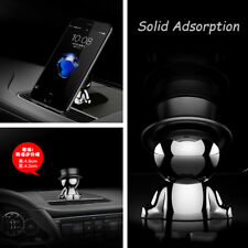 Mini Auto Car Dashboard Stable Magnetic Doll Phone Holder Mount 360° Rotatable