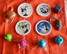 FELIX Lot 4 couvercles differents et 7 jouets pour chats : souris, balles, de