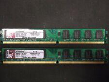 Kingston KVR 4 GB (2x2GB) KVR800D2N6K2/4G DDR2-800 PC2-6400 Low Profile #4966