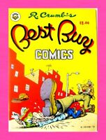 BEST BUY COMICS #1, 1st PRINT, 1979, ROBERT CRUMB, APEX NOVELTIES, UNDERGROUND