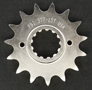 PBI - 377-15 -  Front Countershaft Sprocket, 15T - Made In USA
