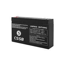 Gel Akku AGM Batterie 6V 7 Ah Gelakku  Akkumulator  Ersatzakku