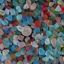 10-16mm Sea Beach Glass Beads Mixed Colors Bulk Blue Green Pendant Jewelry Use