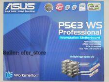 ASUSTeK COMPUTER P5E3 WS PRO Workstation Series, LGA 775/Socket T, Intel Motherboard