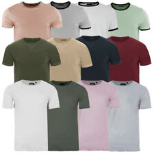 Mens Brave Soul T-Shirts Soft Cotton Rich Summer Tee Shirt Tee Top