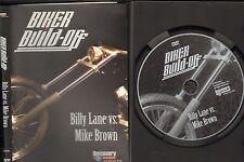 Biker DVD BIKER BUILD-OFF  Billy Lane vs. Mike Brown Original DISCOVERY DVD