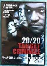 20/20 TARGET CRIMINALE - DVD SIGILLATO N.01013