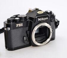 Nikon FE2 Gehäuse schwarz black ⭐ SLR Spiegelreflexkamera 35mm Film ⭐⭐⭐  (2300)