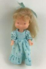 """Holly Hobbie Doll 6"""" Carrie Knickerbocker Jointed Vinyl  Vintage 1970s"""
